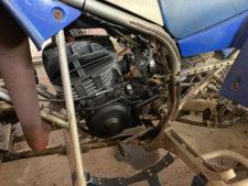 ヤマハ4輪バギー(エンジン)の写真