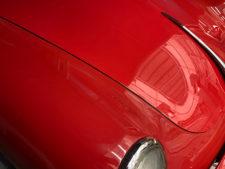 ポルシェ356 赤(車両本体)の写真