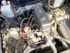 レース用エンジンの写真