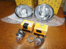 ポルシェ356|ヘッドライト、フロントターンシグナル ライトの写真