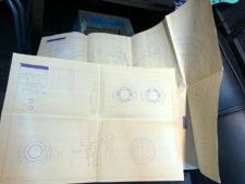 純正ホイール設計図の写真