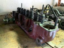 MG-A|シリンダーヘッドの写真
