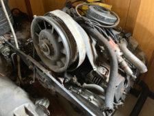 ポルシェ911|エンジンの写真