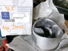 ゲレバ230 E/G用オーバーサイズピストン別アングルの写真