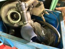 R129 500SL|スーパーチャージャーキットとセットの写真