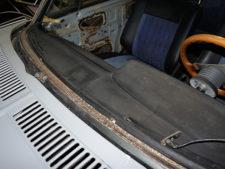 BMW2002tii|ダッシュパネルの写真