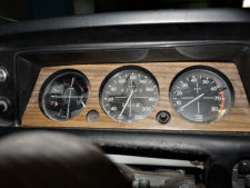 BMW2002tii|コンビネーションメーターの写真