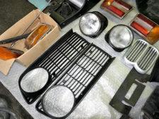 BMW2002tii|ライト類の写真