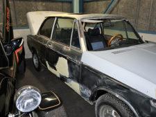 BMW2002tii|車両サイドアップの写真