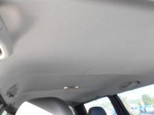 車内ルーフの写真