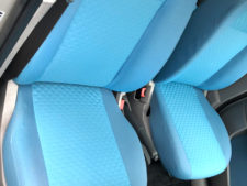 後部座席の写真