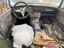 車内の写真