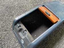 W124 センターコンソール・別アングル1の写真