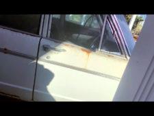 運転席側ドアの写真