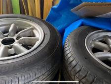 タイヤ ホイールの写真