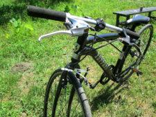 フェラーリ 自転車・別アングルの写真