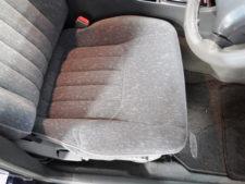 運転席座面の写真