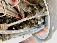 左前輪ドライブシャフトの写真
