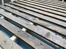 ミニ用 アルミキャリア|ウッドの状態の写真