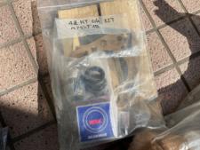 ミッション用のパッキンベアリングセットの写真