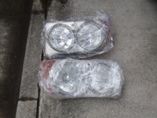 北米仕様ヘッドライト(左右セット)の写真