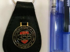 ポルシェ356キーホルダーの写真