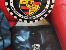 フロントブラのケースと付属するパッチの写真