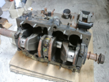 ローバーミニ 1300cc AT エンジンブロックの写真