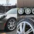 アルファロメオ 4C 純正アルミホイール+タイヤセット